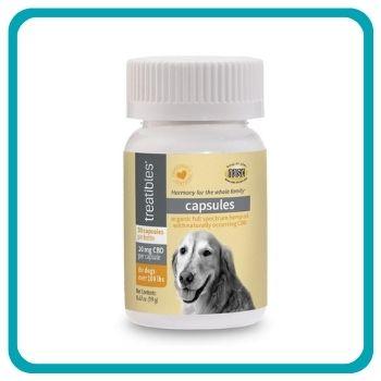 Treatibles 10 mg Organic Full Spectrum Hemp Oil Capsule