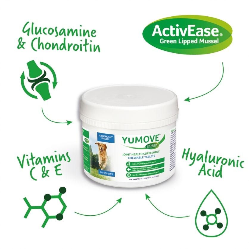 YuMOVE supplement tablets